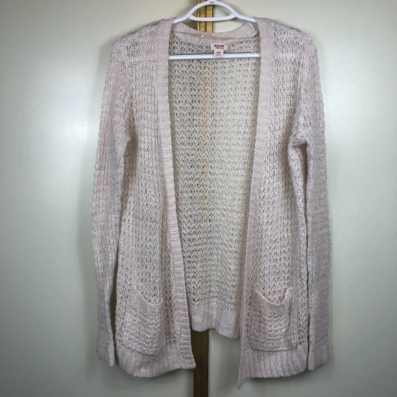 Mossimo Supply Co Open knit Cardigan Sweater M